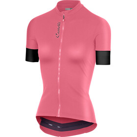 Castelli Anima 2 Bike Jersey Shortsleeve Women pink